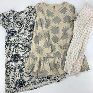 Tea Collection Lot - 2 Dresses & Leggings